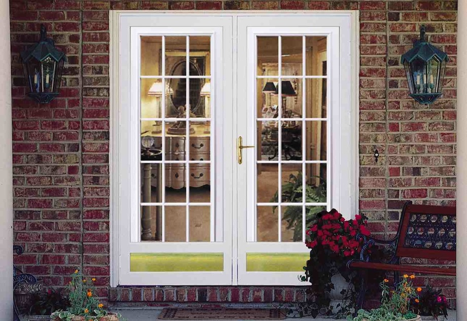 Storm doors same day glass and window repair for Storm doors for double entry doors